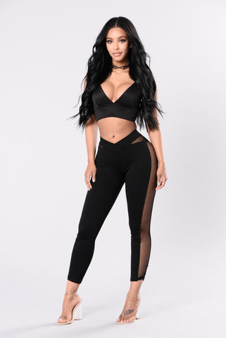 Watch This Trick Legging - Black