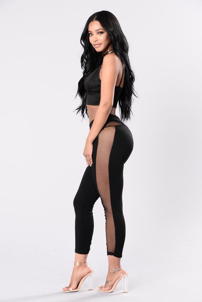 Watch This Trick Leggings - Black