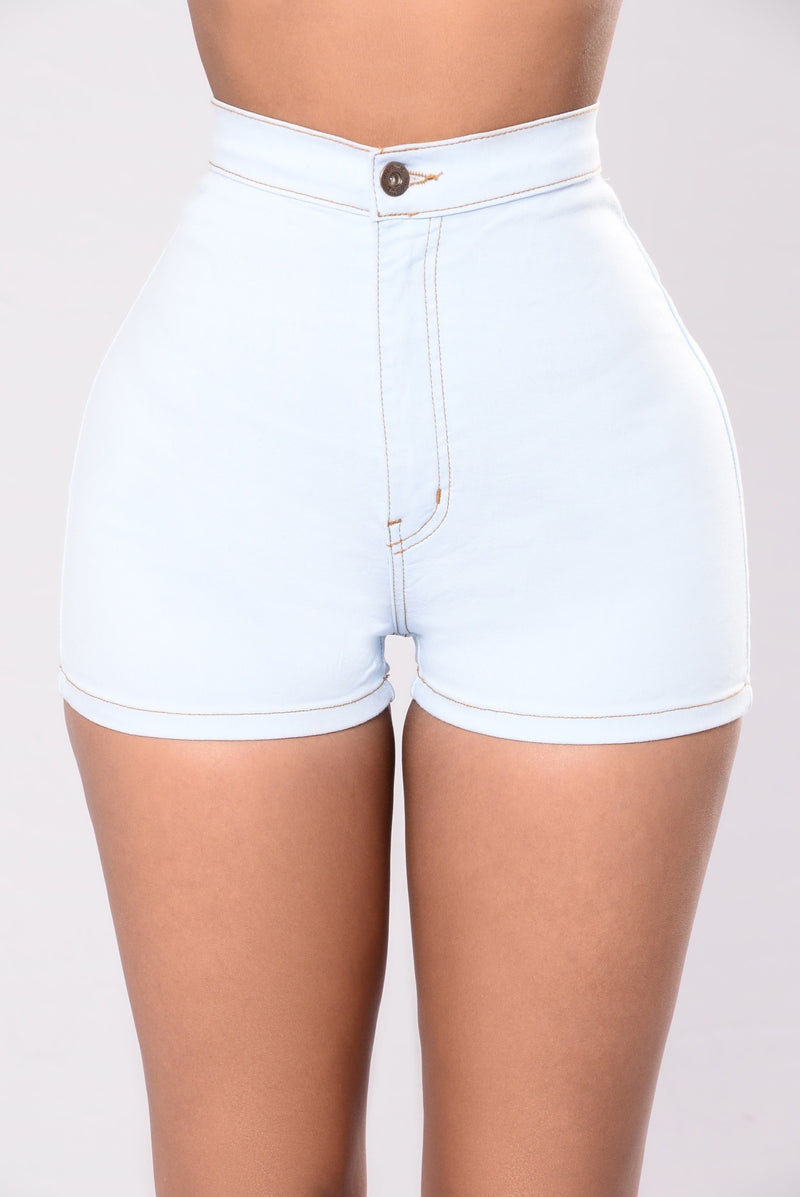Sexy Clean Shorts - Light Blue