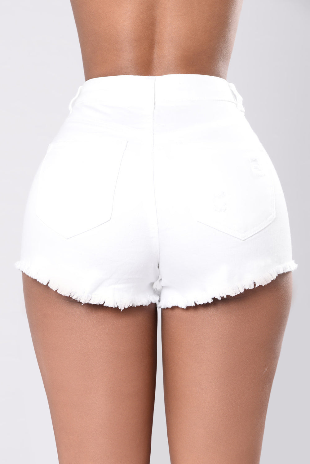 Living Above Shorts - White