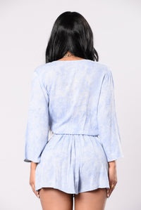 Roaming Freely Top - Blue