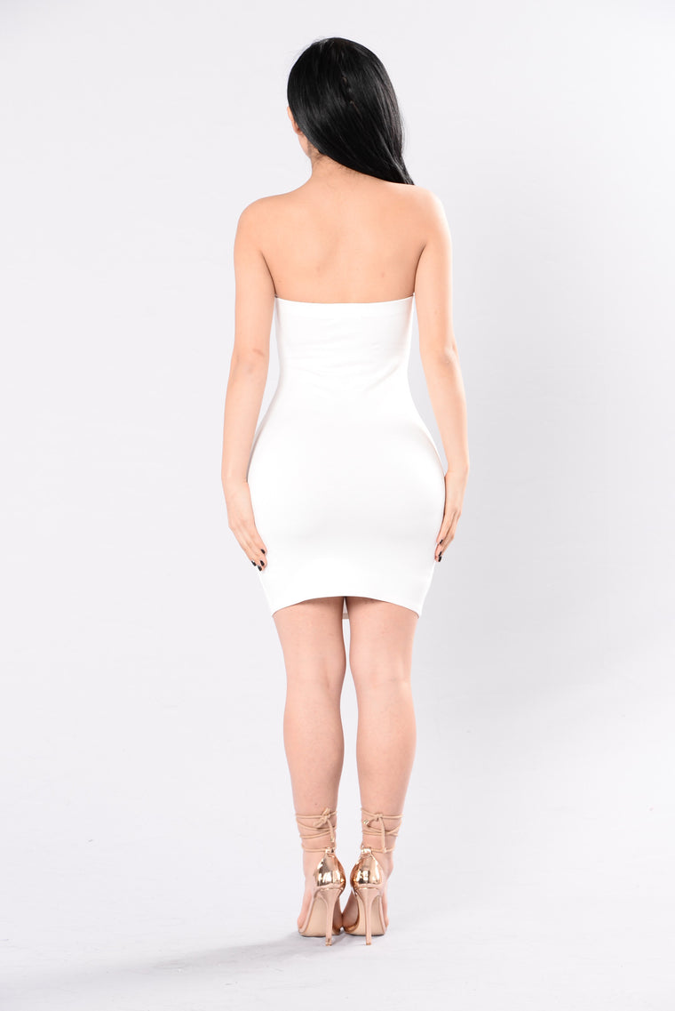 Feeling The Love Dress - White