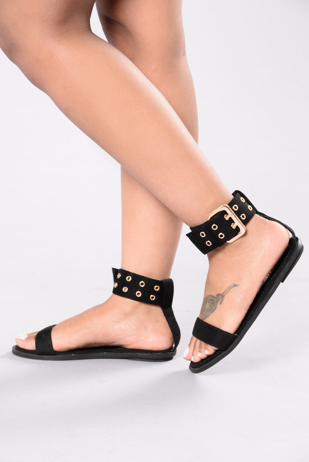 Follow Me Tonight Sandal - Black