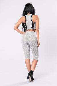 Up In Here Leggings - Grey Angle 5