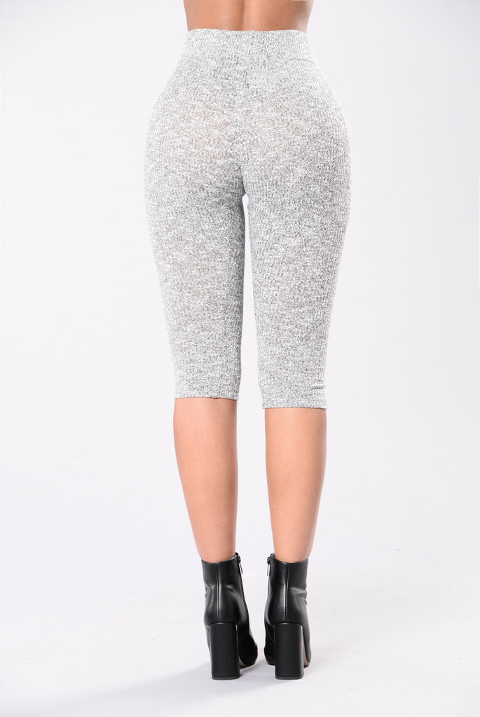 Up In Here Leggings - Grey
