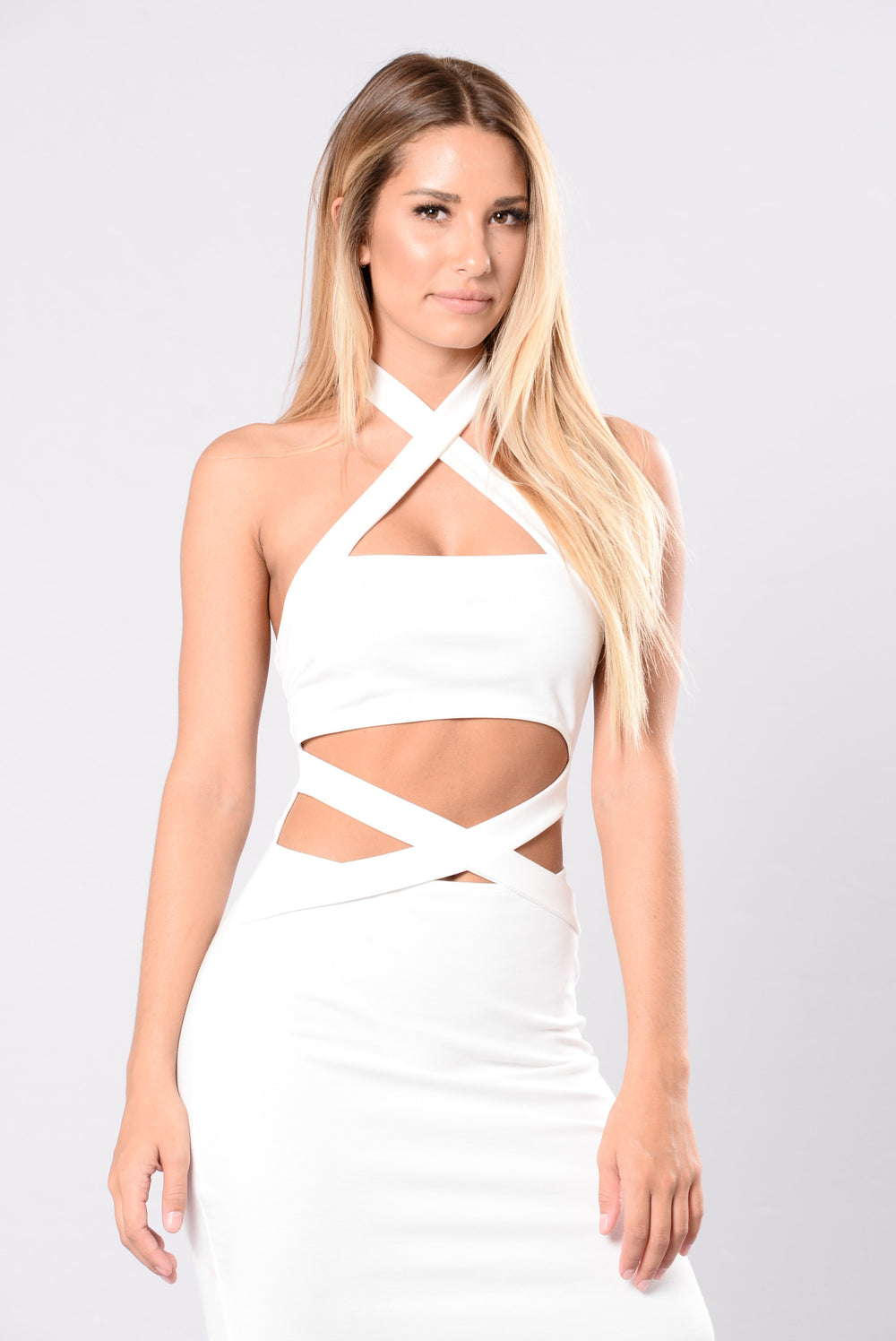 Baby I'm Back With You Dress - Ivory