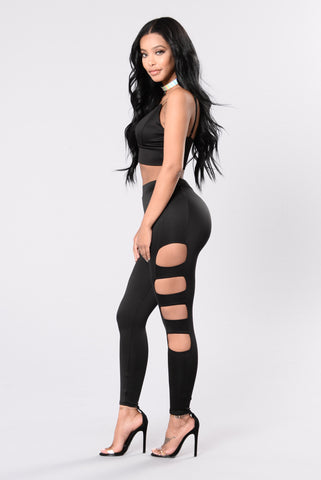 Living The Dream Leggings - Black