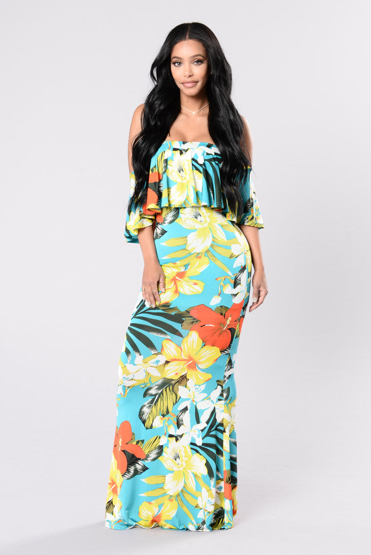 Tropical Lover Dress - Multi