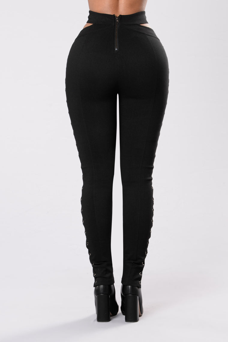 Can You Knot Pants - Black