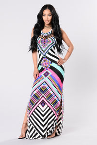 Lets Fiesta Dress - Black