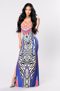 Lovers Rock Dress - Blue