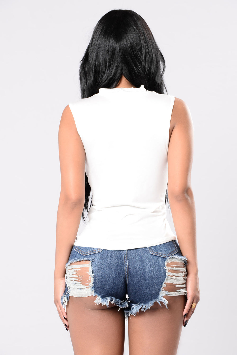 Nm, Just Coachilling Top - Ivory