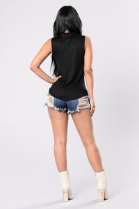 Nm, Just Coachilling Top - Black