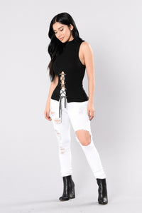 Daytime Brunch Top - Black