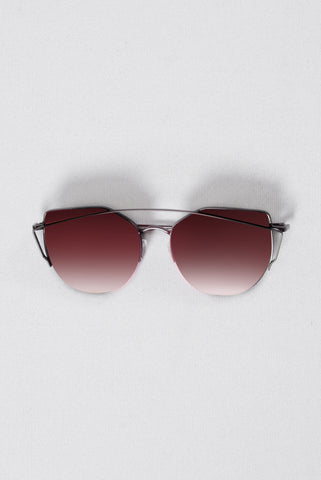 Just Be Your Selfie Sunglasses - Red/Black