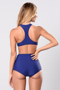 Don't Cha Swim Set - Navy
