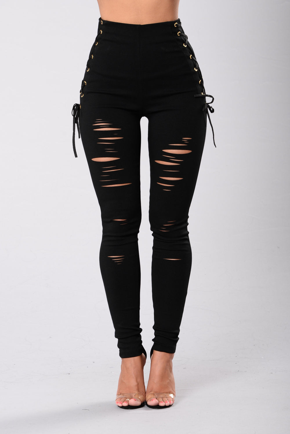 Call Me Fierce Pants - Black
