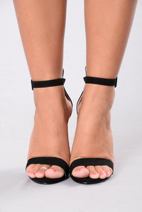 Basic 2 Step Heel - Black