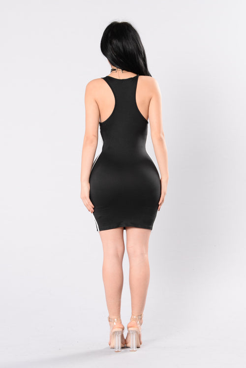 Jersey Chic Dress - Black