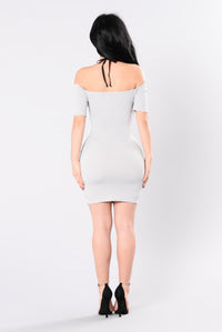 Ahead Of The Game Dress - Grey