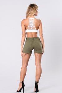 Day Over Shorts - Olive