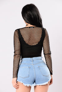 Perfectly Made Bodysuit - Black