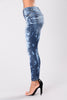 Get Out Of My Space Jeans - Medium Blue