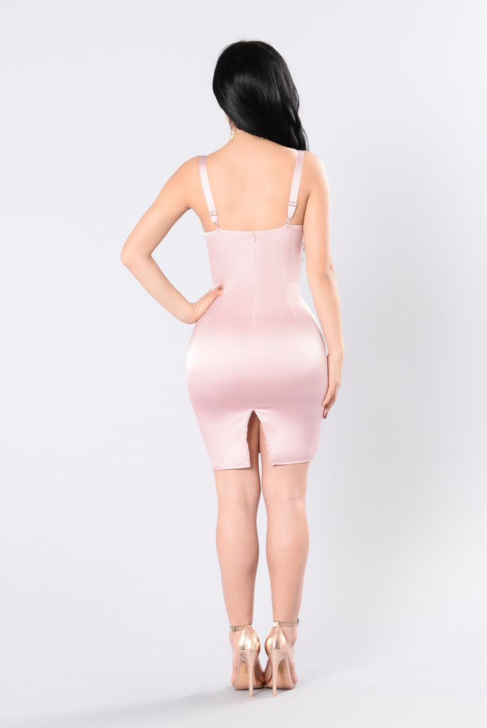 Follow Me My Darling Dress - Blush