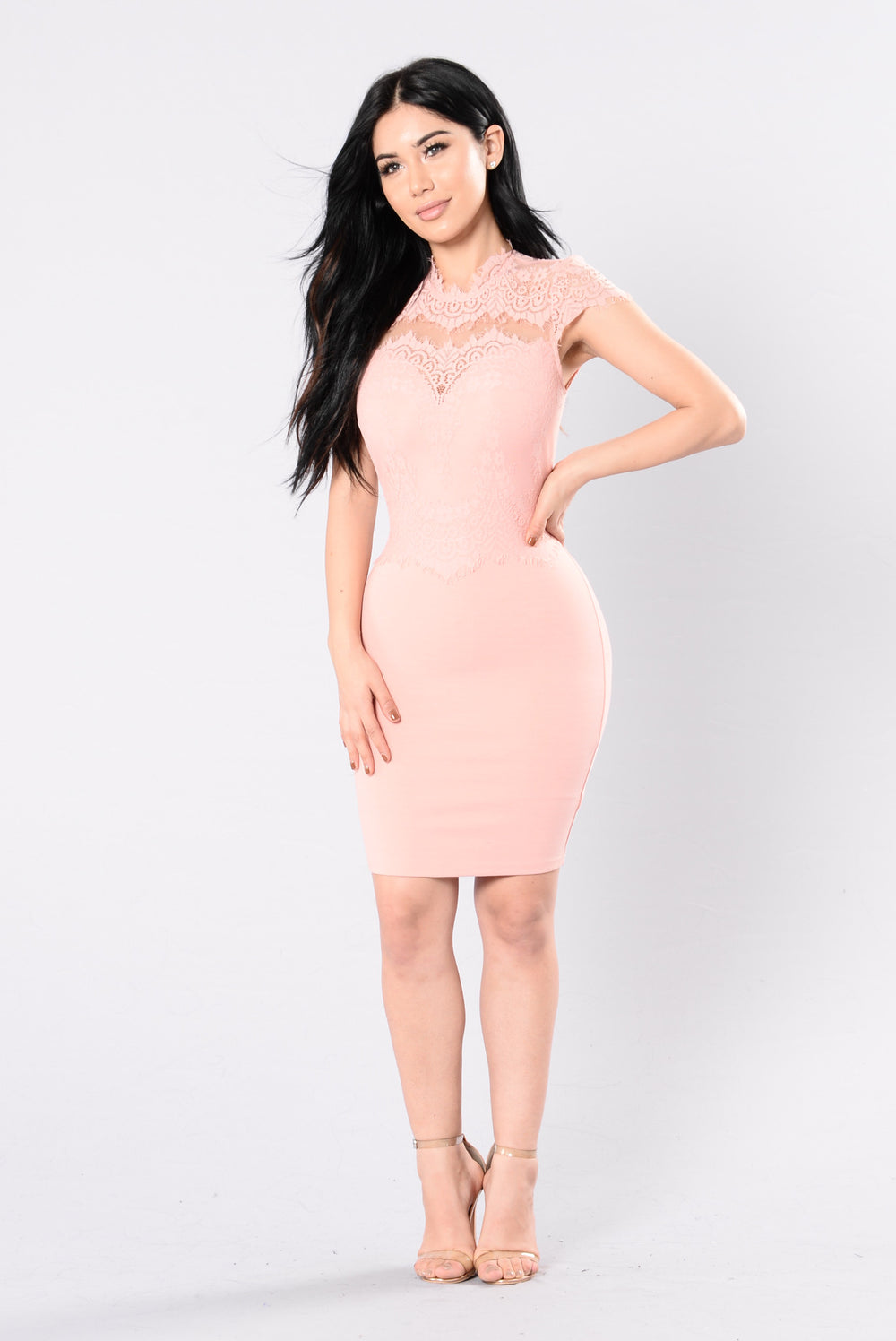 Springtime Promises Dress - Blush