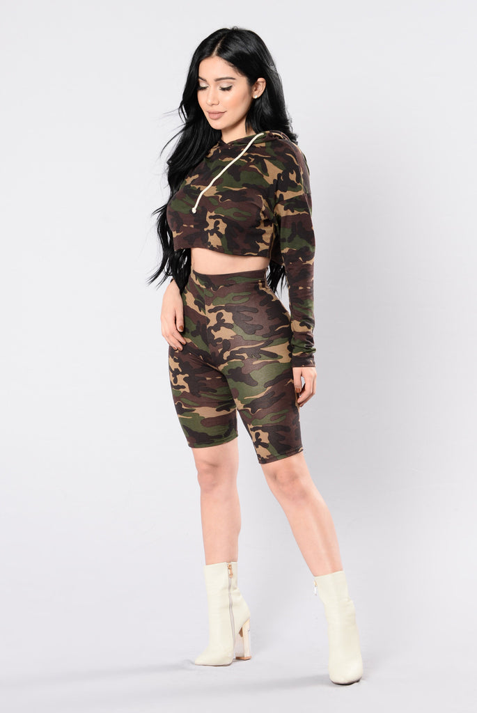 Want You To Myself Top - Camo