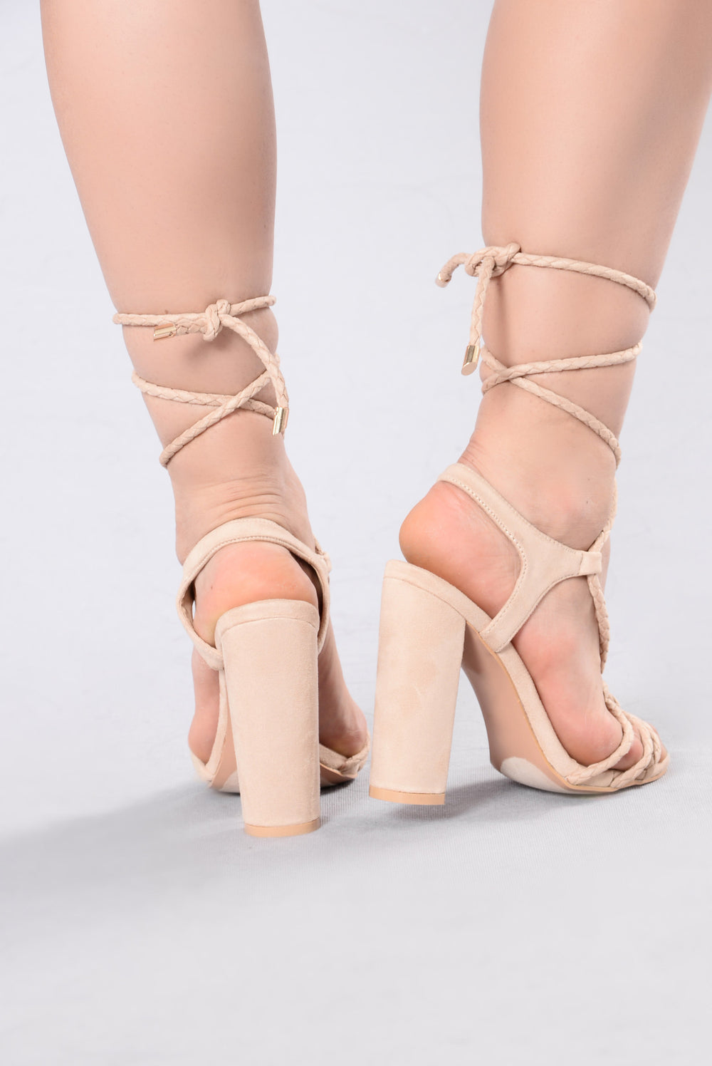 One Above Heel - Nude