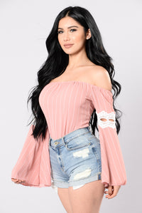 Festival Dreams Top - Warm Rose