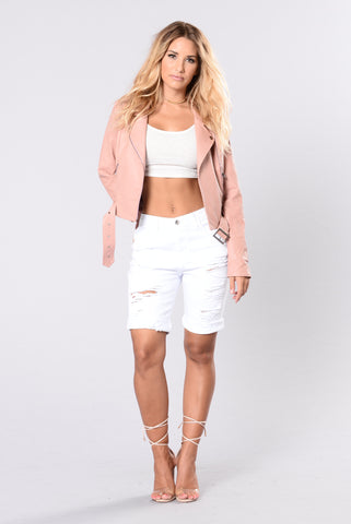 Shipwrecked Bermuda Shorts - White
