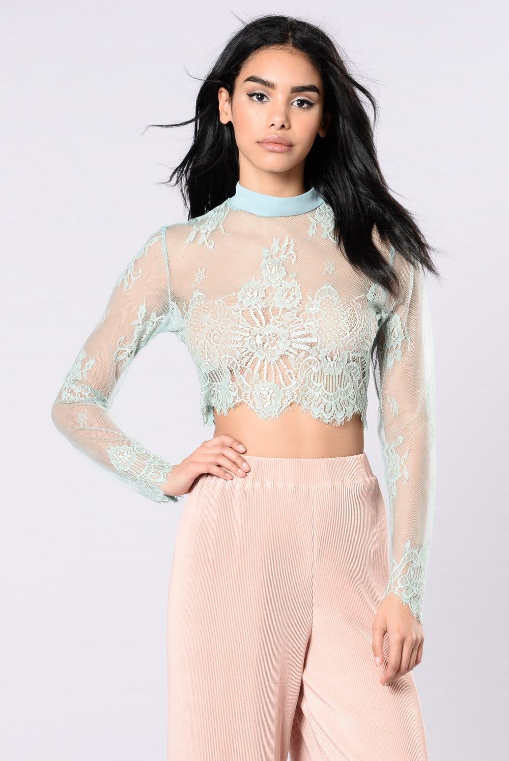 Only Girl Top - Mint