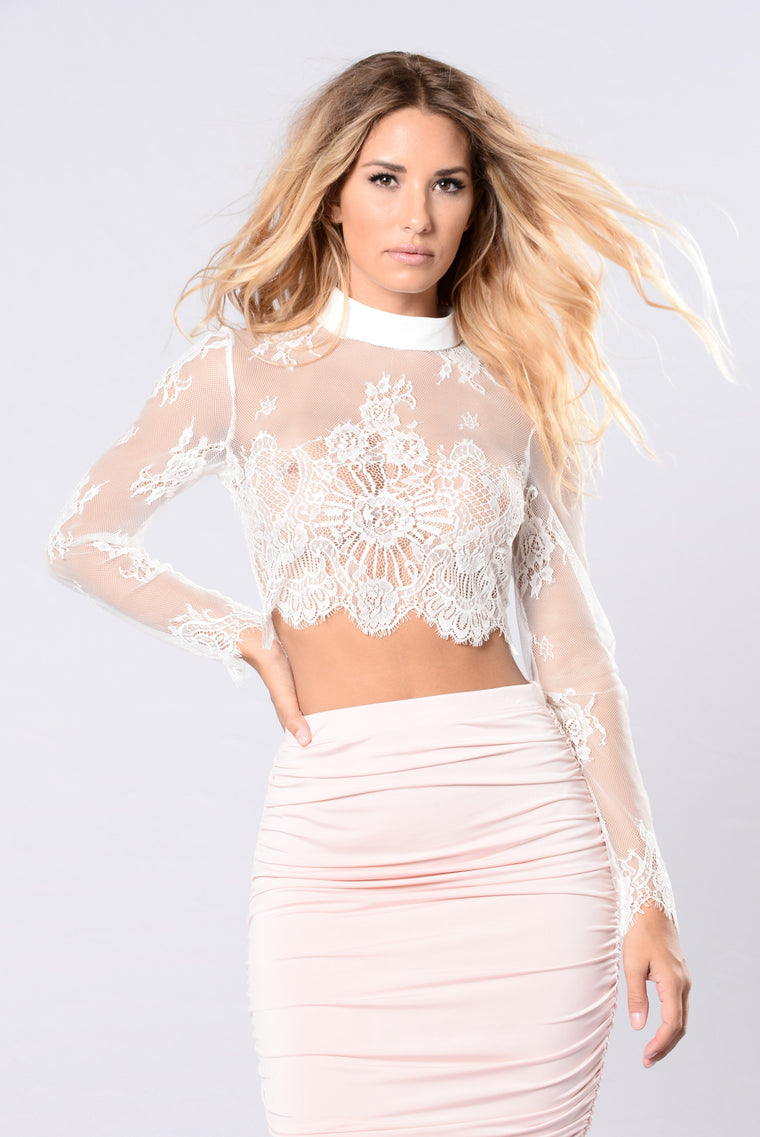 Only Girl Top - White