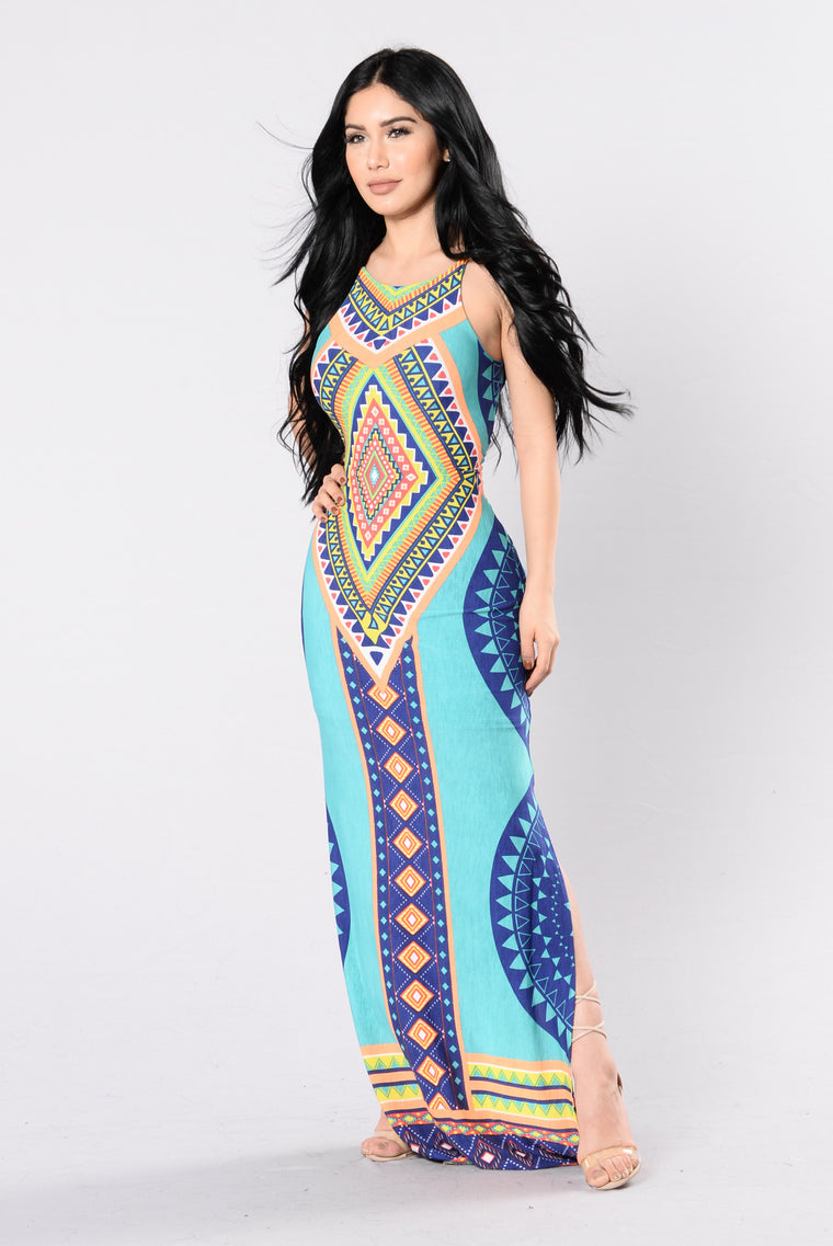 Antigua Dress - Jade