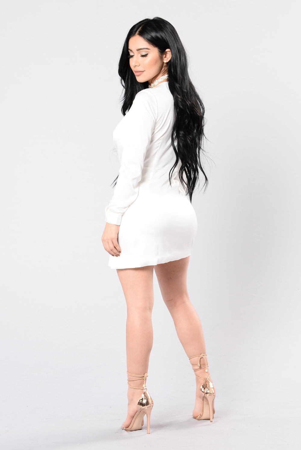 Sugar Free Dress - White