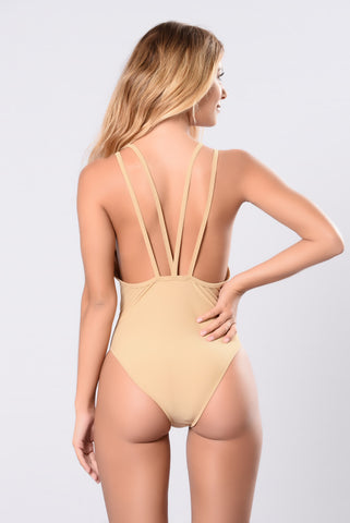 Night Swim Ritual Swimsuit - Nude
