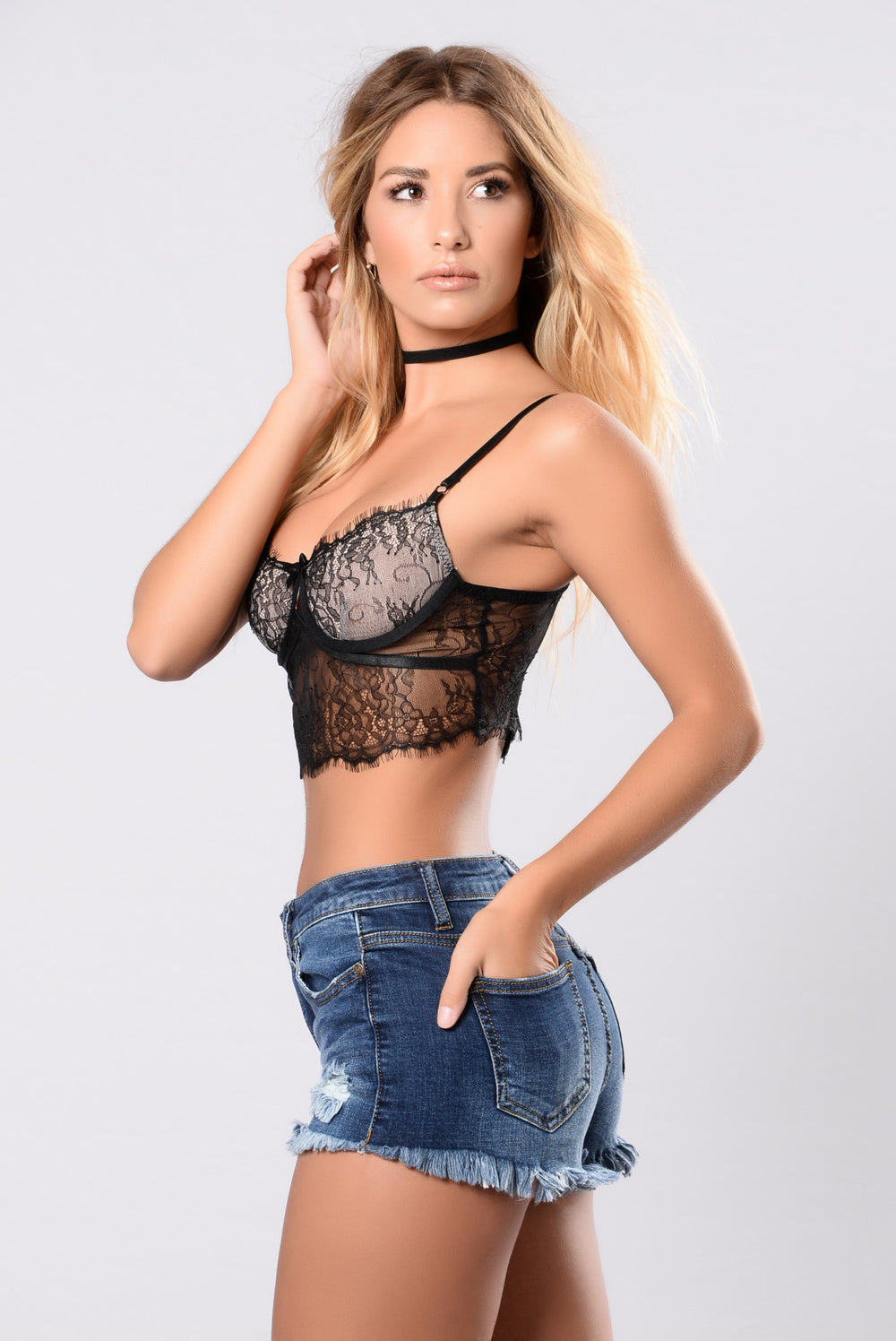 Chantal Bralette - Black