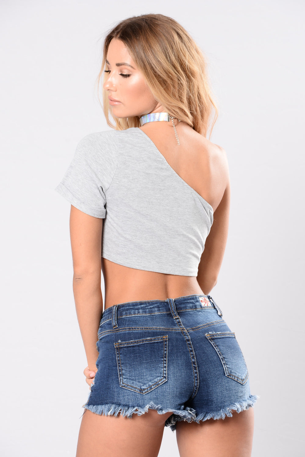 Bad idea to love you top heather grey for Bad idee