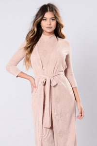 Sweet Time Baby Jumpsuit - Nude