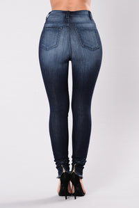 Go To You Excited Jeans - Indigo Angle 3