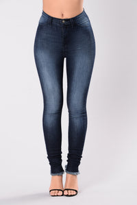 Go To You Excited Jeans - Indigo Angle 1