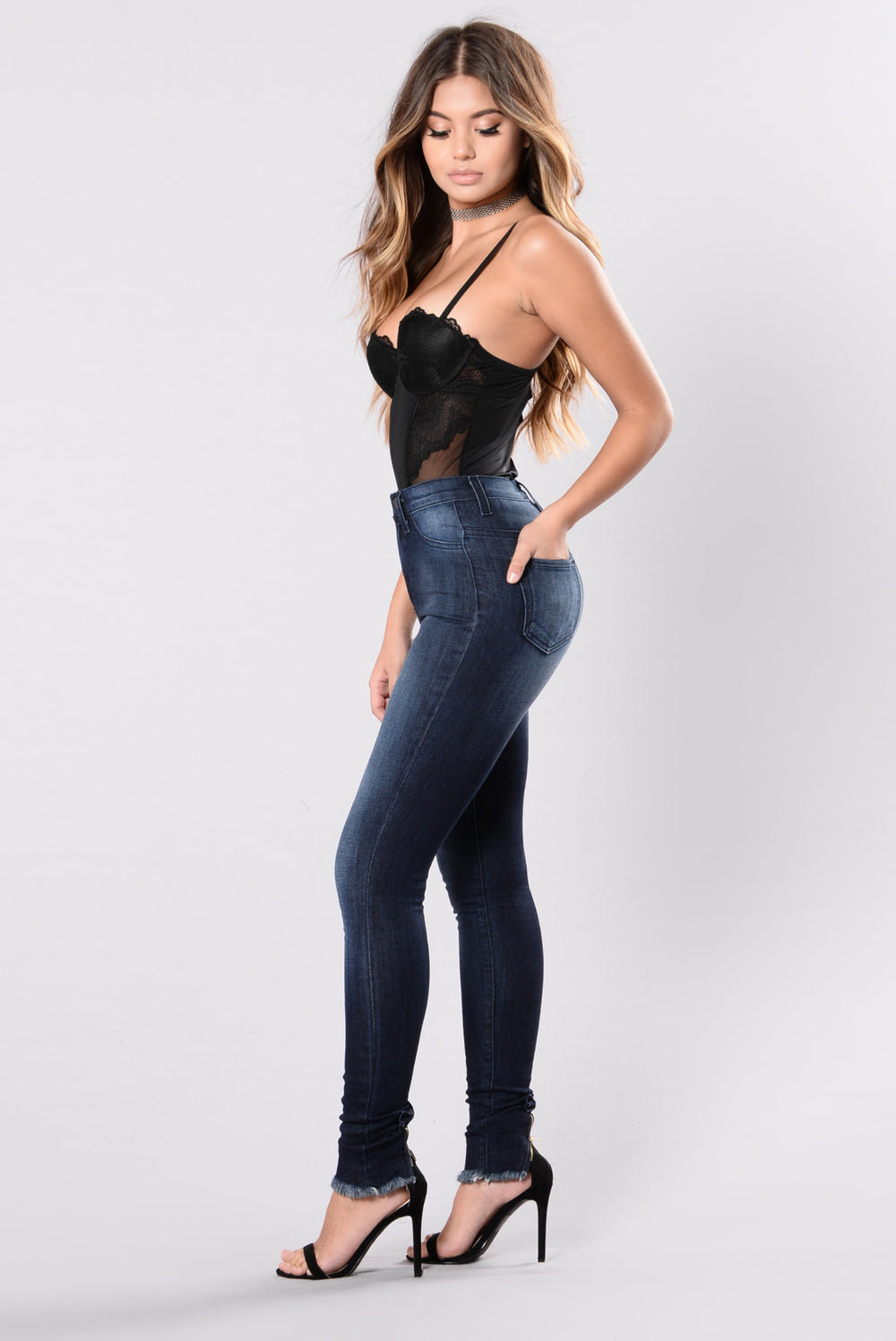 Go To You Excited Jeans - Indigo