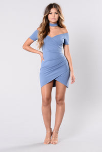 Jaded Dress - Dark Denim