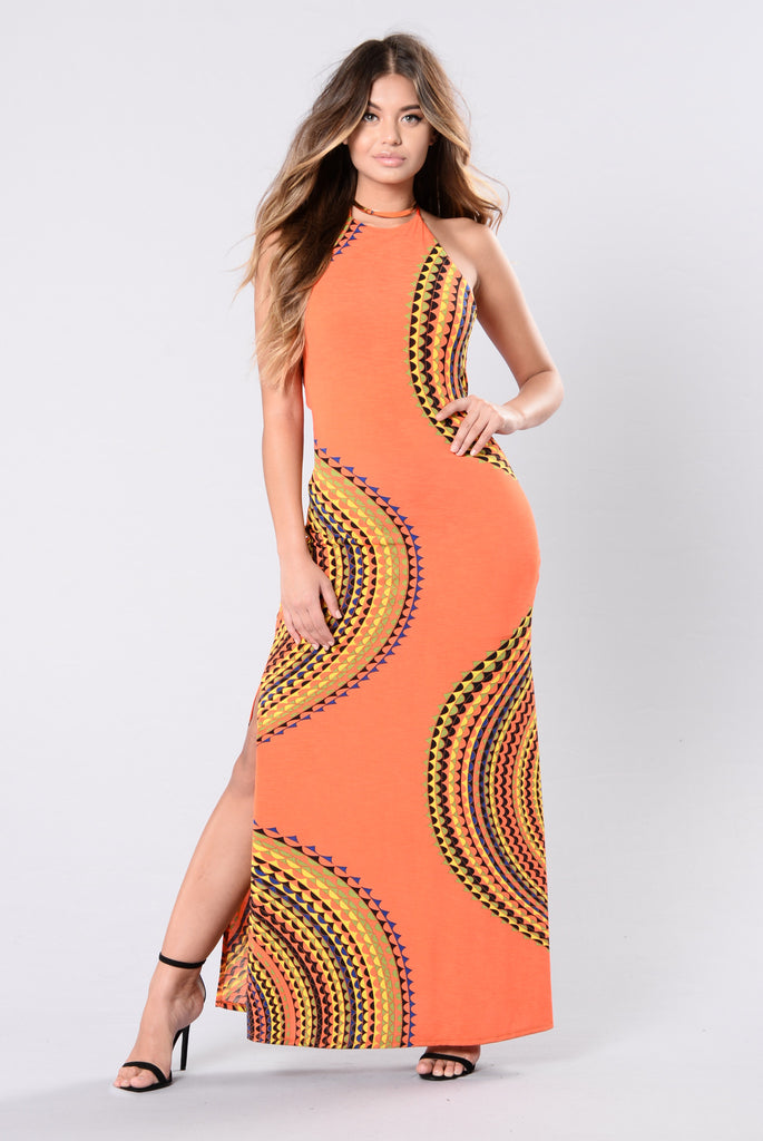 St. Tropez Dress - Orange