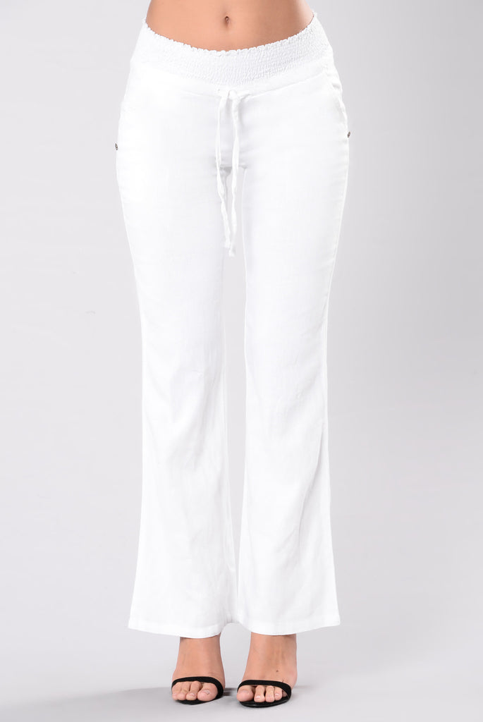 Casual Day Pants - White