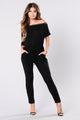 Project Celebrity Jumpsuit - Black