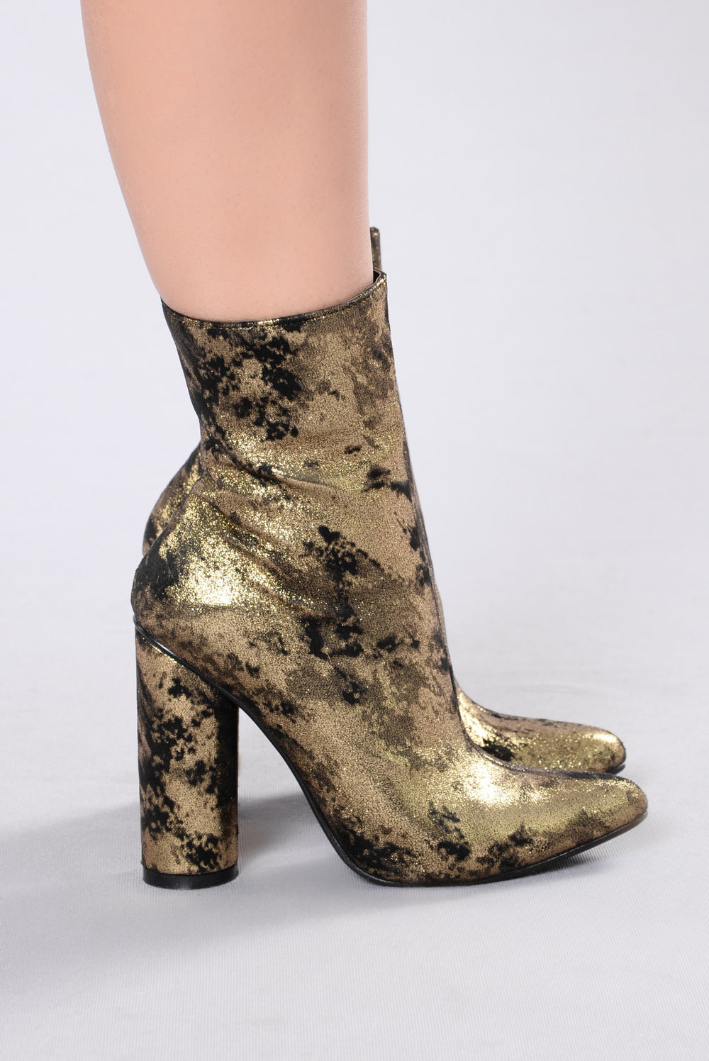 Midnight Lover Boot - Gold