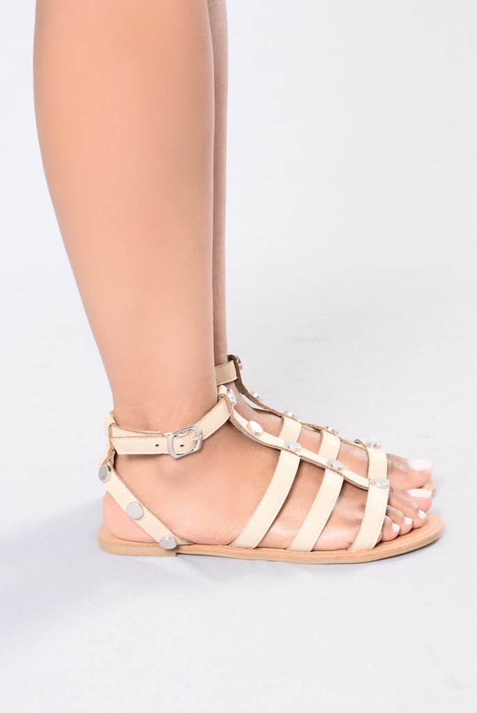 White Sands Sandals - Nude